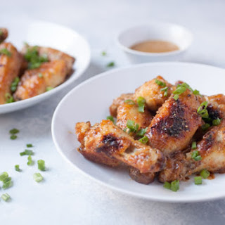 Baked Honey Chicken Mustard Wings