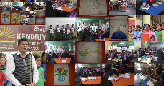 CCA Primary :Class I-Colouring & Drawing & Class II to V Painting Competition