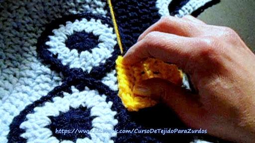 armado del gorro lechuza tejido al crochet ganchillo para zurdos