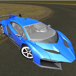muscle sport car simulator