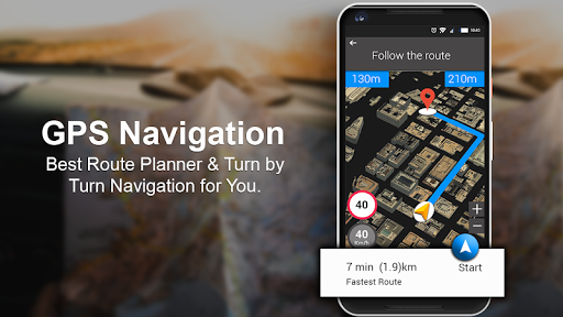 GPS, Maps & Voice Navigation 2019: Traffic Updates screenshot 1