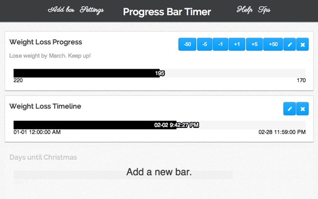 Progress Bar Timer