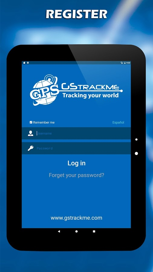 GSTrackMe - Real Time- screenshot