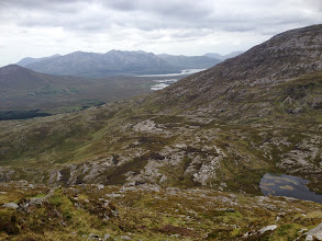 Photo: The descent from Binn Mhór