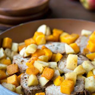 Apple and Butternut Squash Pork Loin Filet