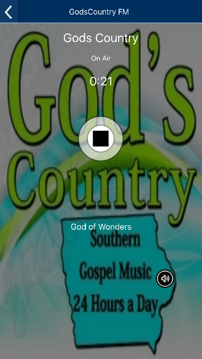 God's Country FM- screenshot