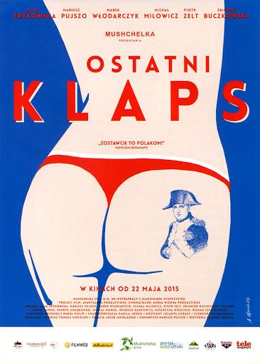 Przód ulotki filmu 'Ostatni Klaps'