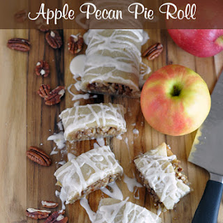 Apple Pecan Pie Roll
