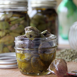 Calabrese Cracked Olives (Olive Schiacciate).