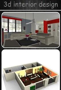 3d interiéru - náhled