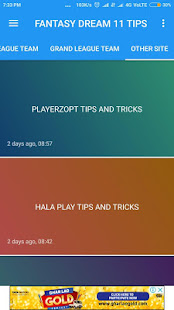 Download FANTASY DREAM 11 TIPS-Asia cup,Dream 11 Tips For PC Windows and Mac apk screenshot 4