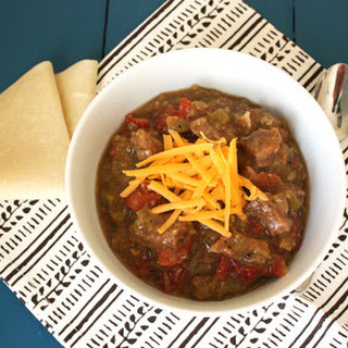 Pork Green Chili.