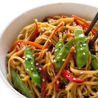 20 Minute Vegetable Lo Mein.
