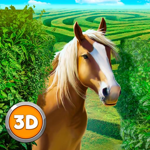 Wild Horse Maze Adventure Sim