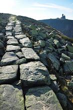Photo: Ścieżka na Wielkim Szyszaku zbudowana z kamiennych płyt, została ufundowana w XIX wieku przez ród Schaffgotschów.