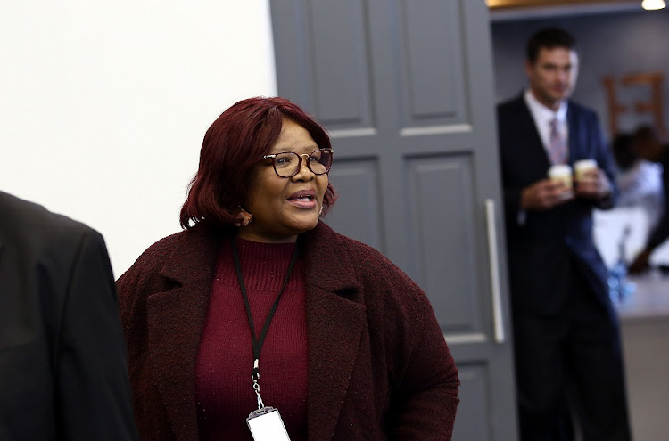 Former ANC MP Vytjie Mentor appears before the State Capture Commission of Inquiry in Parktown, Johannesburg, where she is giving evidence on the Gupta family's alleged influence on state related matters including appointing of cabinet ministers.