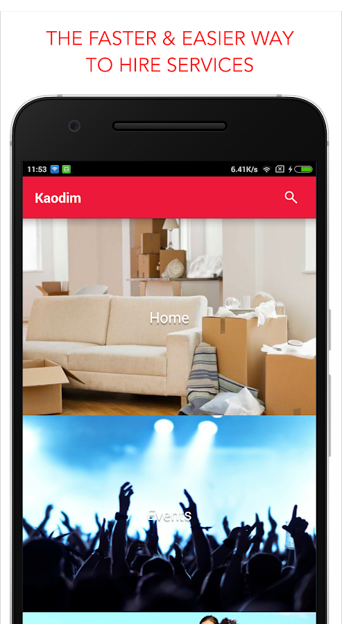 Kaodim - Hire Services- screenshot