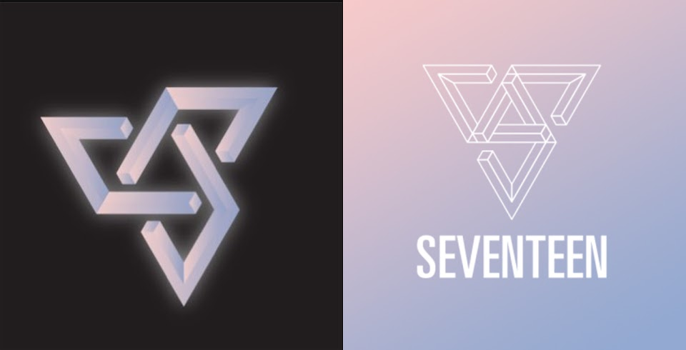 seventeen twitter logos