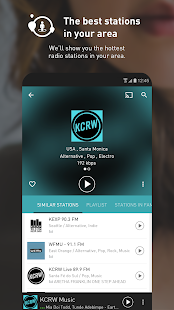 radio.net - Tune in to more than 30,000 stations Screenshot