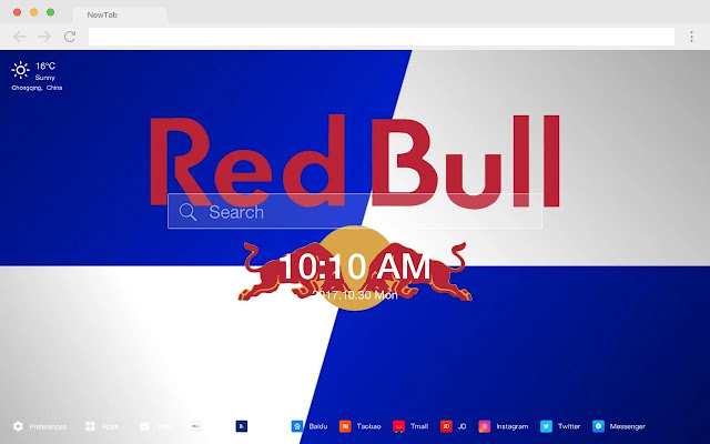 Red Bull HD Wallpapers Drinks New Tabs Theme