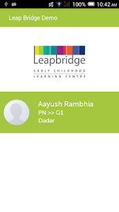 Leapbridge Parent Portal - náhled
