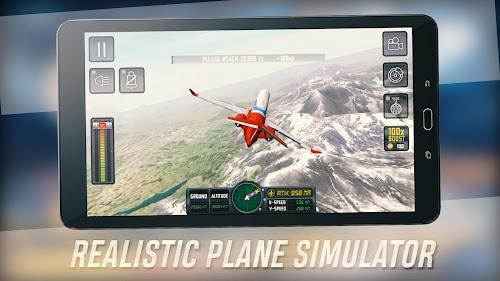 Screenshot 2 Flight Sim 2018 1.2.9 APK+DATA MOD