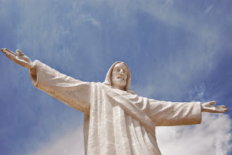 Photo: Not quite as impressive as Christ the Redeemer in Rio!