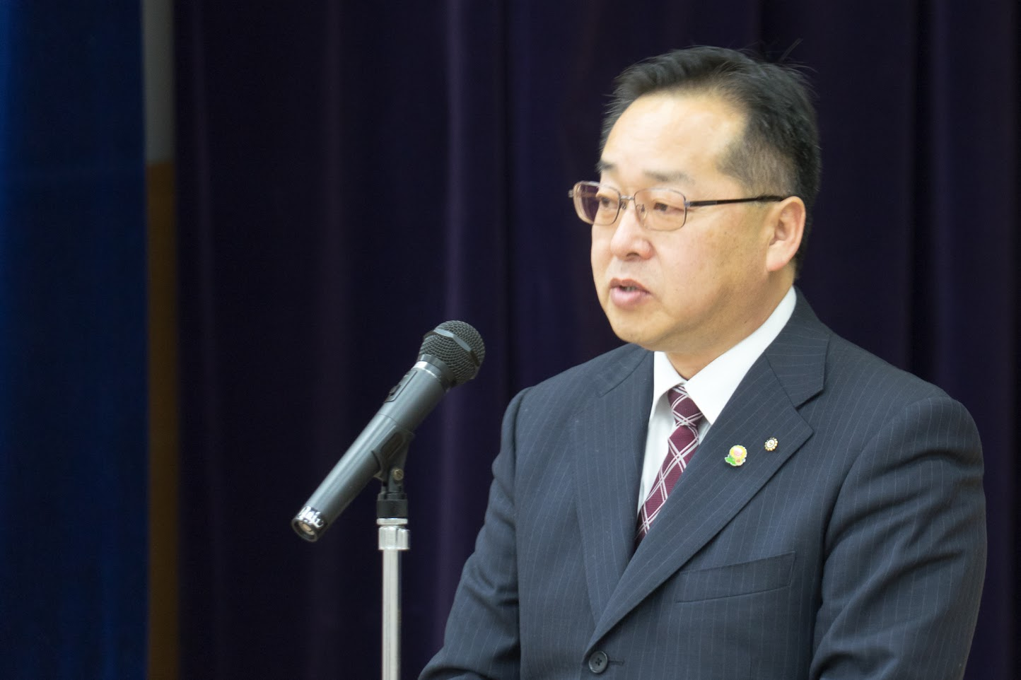 北竜町商工会・藤井雅仁 会長
