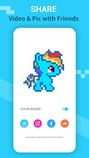 PixelDot - Color by Number Sandbox Pixel Art 1.2.9.0 screenshots 5