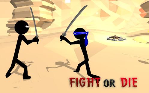 Stickman Ninja Warrior 3D - náhled