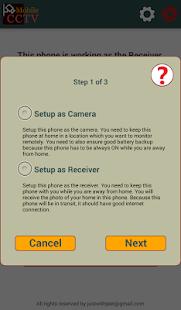 Mobile CCTV - náhled