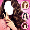 Hairstyle Camera Beauty : Hair Changer Photo Edit icon