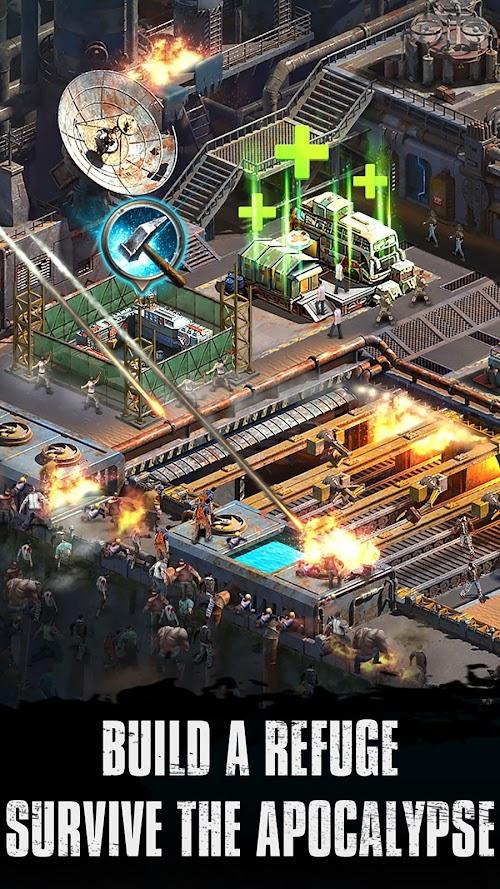 Screenshot 1 Zombie Siege 0.1.396 APK MOD