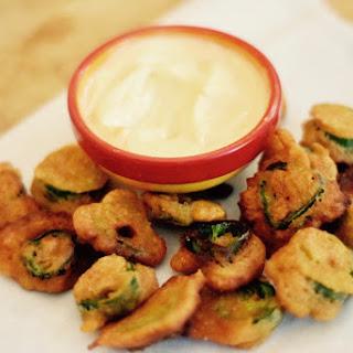 Fried Jalapeño Slices.