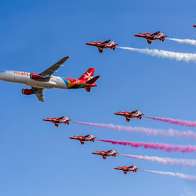 AirMalta by Marco Aquilina - Transportation Airplanes ( clearwater, beautiful island, red arrows, lovely malta, airmalta,  )