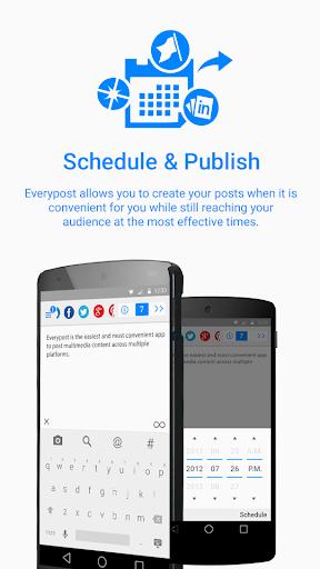 Social Media, Twitter, Google+ 3.2.1 screenshots 1