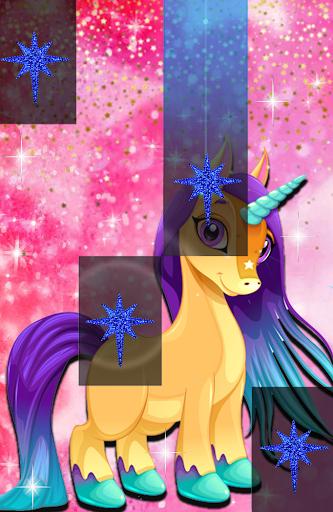 Pegasus Piano Pony Tiles : Unicorn Horn Horse Game 1.1.5 screenshots 3