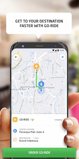GO-JEK - Ojek Taxi Booking, Delivery and Payment 3.14.0 screenshots 3
