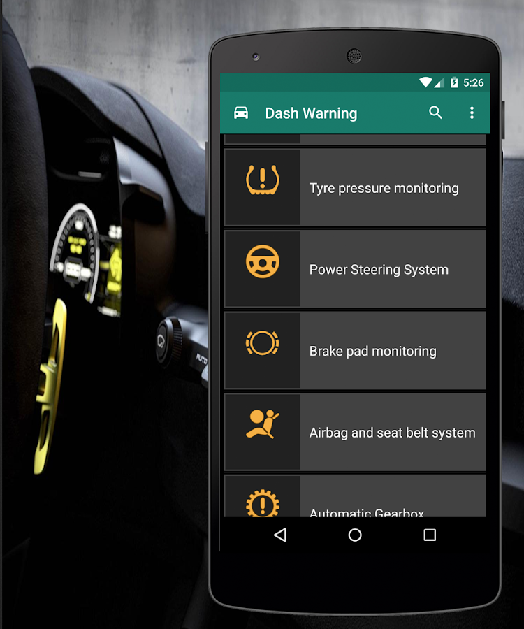 Dashboard Warning Lights Android Apps On Google Play - Warning signs bmw 1 series