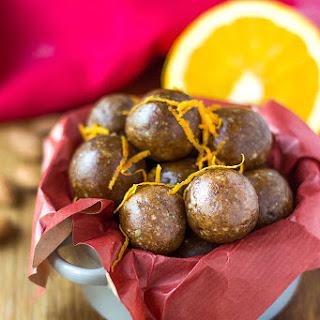 Orange and Cinnamon Bliss Balls.