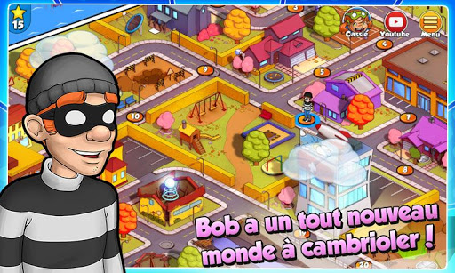 Code Triche Robbery Bob 2: Double Trouble APK MOD screenshots 5