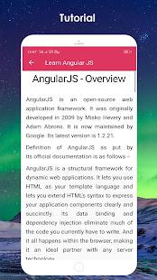 Download Learn Angular JS For PC Windows and Mac apk screenshot 5