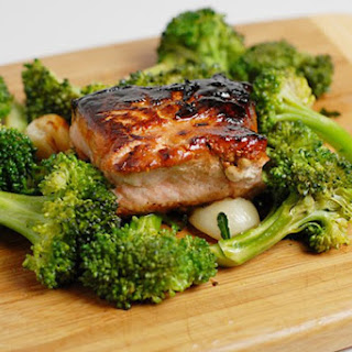 Gluten Free Salmon Kabayaki.
