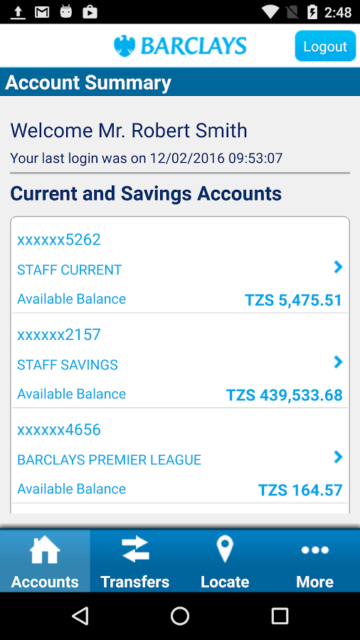 Barclays Tanzania- screenshot