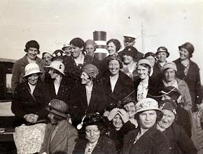 Photo: Ned. Bond van Boerinnen en andere plattelandsvrouwen: opgericht 1931 uitje beginjaren
