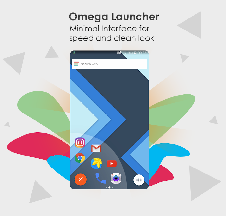 Marshmallow Launcher : Omega- screenshot