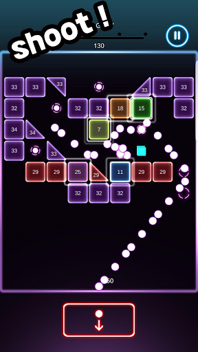 Swipe Brick Blast screenshot 2