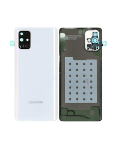 Galaxy A71 Back Cover Silver