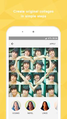 Mopic - Selfie Symbol Collage - screenshot