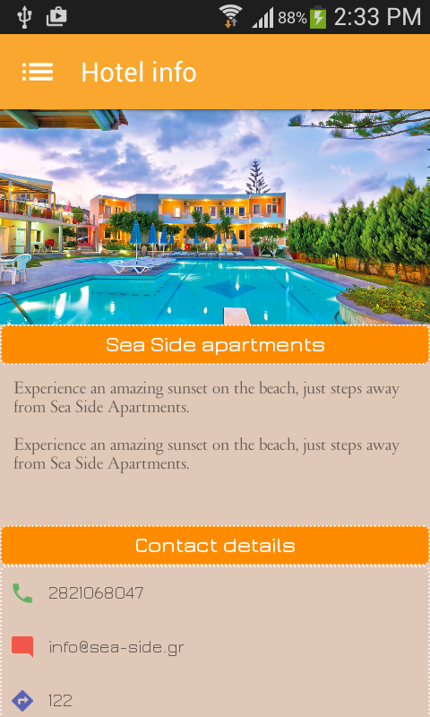 Sea Side Apartments- screenshot